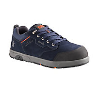 Scruffs Navy Blue Safety trainers, Size 8