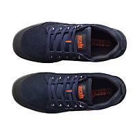 Scruffs Navy Blue Safety trainers, Size 9