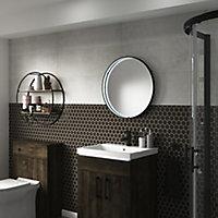 Sensio Aspect Circular Illuminated Bathroom mirror (H)600mm (W)600mm
