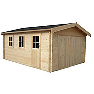 Shire 13x12 Bradenham Wooden Garage - Assembly service included
