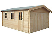 Shire 17x14 Bradenham Wooden Garage