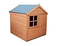Shire 4x4 Woodbury Apex Shiplap Wooden Playhouse