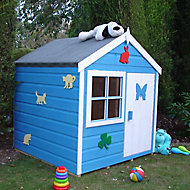 Shire 4x4 Woodbury Wooden Playhouse