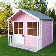 Shire 5x4 Kitty Apex Shiplap Wooden Playhouse - Assembly service included