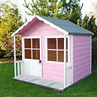 Shire 5x4 Kitty Apex Shiplap Wooden Playhouse