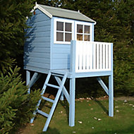 Shire 6x4 Bunny Apex Shiplap Wooden Playhouse - Assembly service included