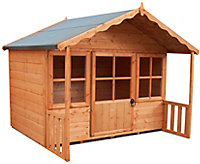 Shire 6x4 Woodbury Wooden Playhouse