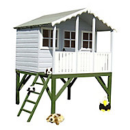 Shire 6x6 Stork Apex Shiplap Wooden Playhouse - Assembly service included