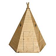 Shire 7x6 Wigwam Pinnacle Shiplap Wooden Playhouse