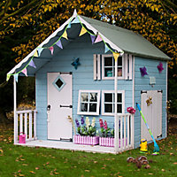 Shire 7x8 Crib Wooden Playhouse - Assembly service included