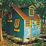 Shire 8x6 Cottage Apex Shiplap Wooden Playhouse - Assembly service included