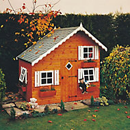 Shire 8x6 Loft Apex Shiplap Wooden Playhouse