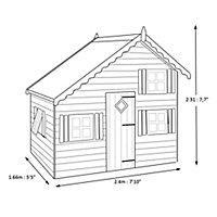 Shire 8x6 Loft Wooden Playhouse