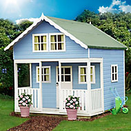 Shire 8x9 Lodge Apex Shiplap Wooden Playhouse - Assembly service included