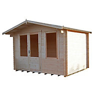 Shire Berryfield 11x10 Apex Tongue & groove Wooden Cabin