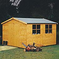 Shire Bison 12x10 Apex Shiplap Wooden Workshop