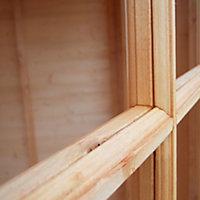 Shire Dutch 7x7 Dutch apex Shiplap Wooden Shed