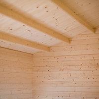 Shire Elveden 26x14 Apex Tongue & groove Wooden Cabin