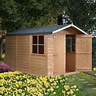 Shire Guernsey 10x7 Apex Shiplap Wooden Shed