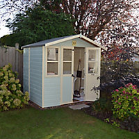 Shire Haddon 7x5 Apex Shiplap Wooden Summer house - Assembly service included