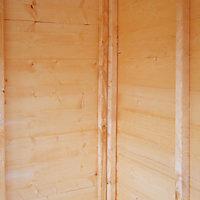 Shire Hampton 8x8 Pent Shiplap Wooden Summer house