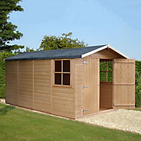 Shire Jersey 13x7 Apex Shiplap Wooden Shed - Assembly service included