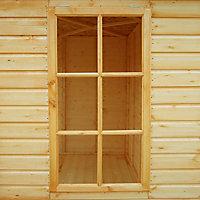 Shire Kensington 13x7 Apex Shiplap Wooden Summer house