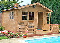 Shire Kinver Apex Tongue & groove Wooden Cabin