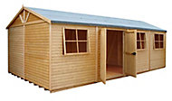 Shire Mammoth 20x10 Apex Wooden Workshop