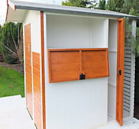 Shire Multi Store 6x6 Apex Tongue & groove Wooden Shed