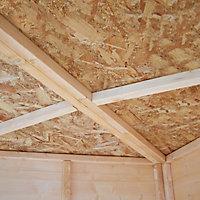 Shire Murrow 10x10 Pent Shiplap Wooden Shed