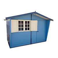 Shire Security Cabin 10x6 Apex Shiplap Wooden Shed