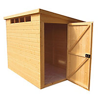Shire Security Cabin 10x8 Pent Shiplap Wooden Shed