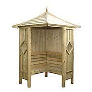 Shire Wood Corner arbour