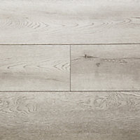Showhome Grey Wood effect Luxury vinyl click flooring, 2.42m² Pack