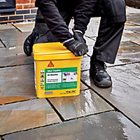 Sika FastFix Ready mixed Quick dry Charcoal Jointing compound, 15kg Plastic tub