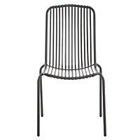 Silene Metal 4 seater Table & chair set