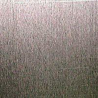 Silver effect Aluminium Smooth Sheet, (H)1000mm (W)500mm (T)0.5mm