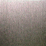Silver effect Aluminium Smooth Sheet, (H)1000mm (W)500mm (T)0.5mm