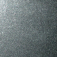 Silver effect Galvanised Steel Perforated Sheet, (H)1000mm (W)500mm (T)0.55mm