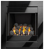 Sirocco Ignite Cristal Black Gas Fire