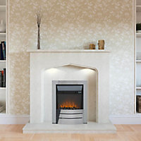 Sirocco Maine Black Electric Fire