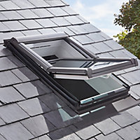 Site Anthracite Aluminium Slate Flashing, (L)1.18m (W)0.78m