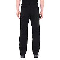 "Site Beagle Black Men's Trousers, One size W34"" L32"""