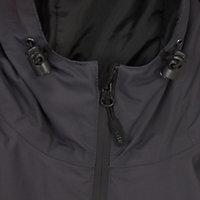 Site Black & grey Waterproof jacket Medium