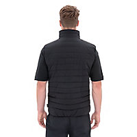 Site Blackthorn Black Bodywarmer Large
