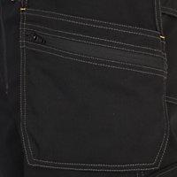 "Site Coyote Black Men's Multi-pocket trousers, One size W38"" L32"""