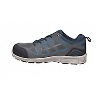 Site Crater Grey Safety trainers, Size 11