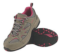 Site Grey & pink Ladies Ladies trainers, Size 6