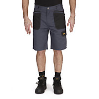 "Site Harrier Black & grey Shorts W36"""